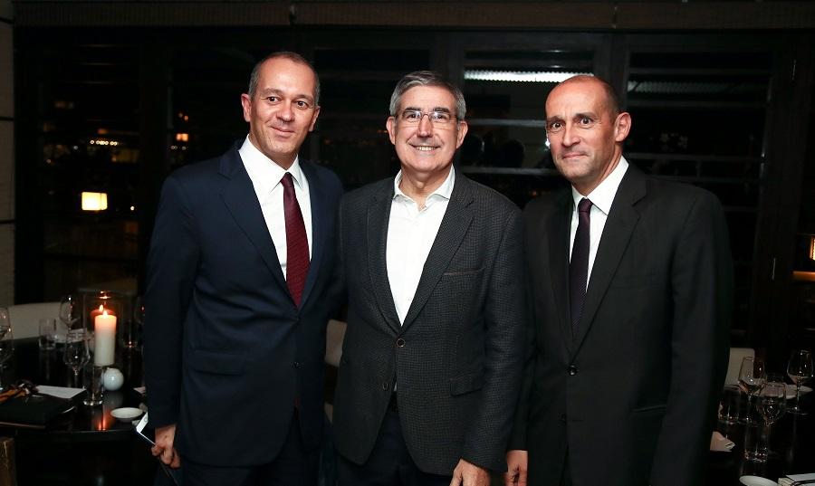 Συναντήθηκαν με Μπερτομέου, Παναγιώτης και Γιώργος Αγγελόπουλος
