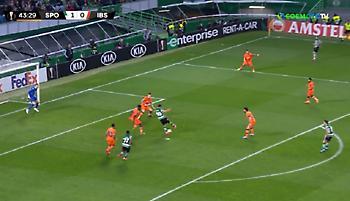 Και δεύτερο γκολ η Σπόρτινγκ κόντρα στην Μπασάκ (video)