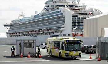 Επαναπατρίστηκαν οι δύο Έλληνες που βρίσκονταν στο κρουαζιερόπλοιο στην Ιαπωνία
