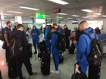 Έφτασε στη Βοσνία η Εθνική (pic)