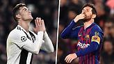 Απίστευτο: Μέσι και Ρονάλντο έχουν πλέον ακριβώς τα ίδια γκολ!