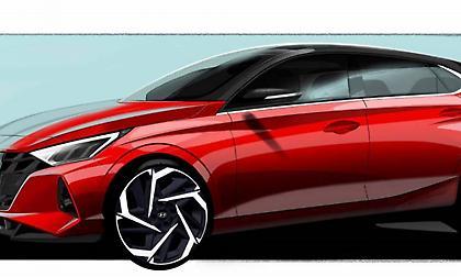 Η Hyundai αποκαλύπτει τις πρώτες εικόνες του ολοκαίνουριου i20