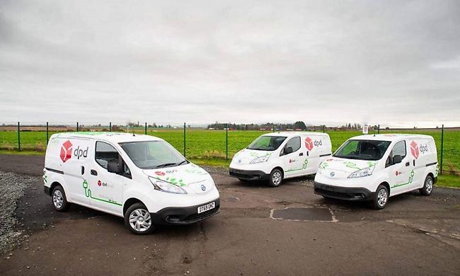 Η Nissan παραδίδει 300 αμιγώς ηλεκτρικά e-NV200, στην DPD του Ηνωμένου Βασιλείου
