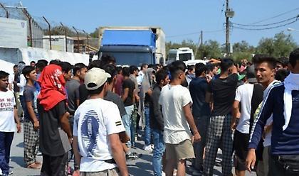 Λέσβος: Συμβολική διαμαρτυρία κατά της δημιουργίας δομής προσφύγων και μεταναστών