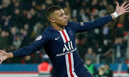 Εμπαπέ: Ο πρώτος Γάλλος που συμμετέχει σε 20 γκολ για τέσσερις σεζόν
