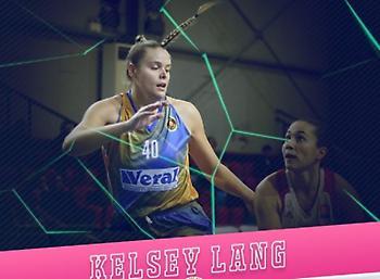 MVP της αγωνιστικής στην Α1 Γυναικών η Λανγκ