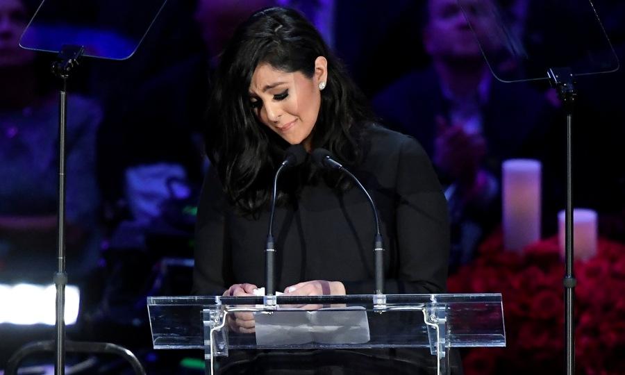 «Ράγισε» το Staples Center με τον λόγο της για τον Κόμπι η Βανέσα Μπράιαντ (video)