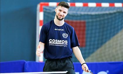 Τα διπλά των Ελλήνων αθλητών για το επικείμενο Ευρωπαϊκό Πρωτάθλημα πινγκ πονγκ Under 21