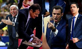 Ευρωλίγκα: Ομπράντοβιτς, Ιτούδης, Σφαιρόπουλος εισηγητές στο σεμινάριο προπονητών