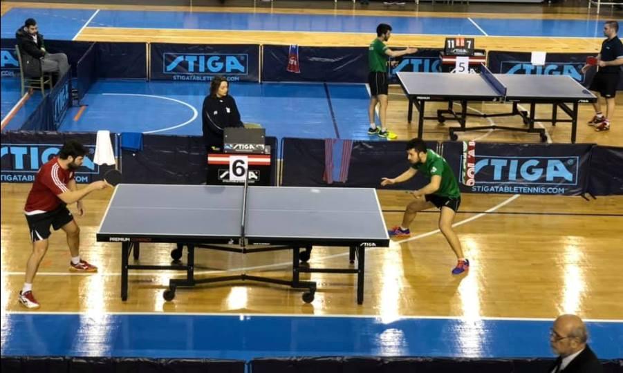 Στην τελική ευθεία για το Πανελλήνιο Πρωτάθλημα πινγκ πονγκ ανδρών-γυναικών