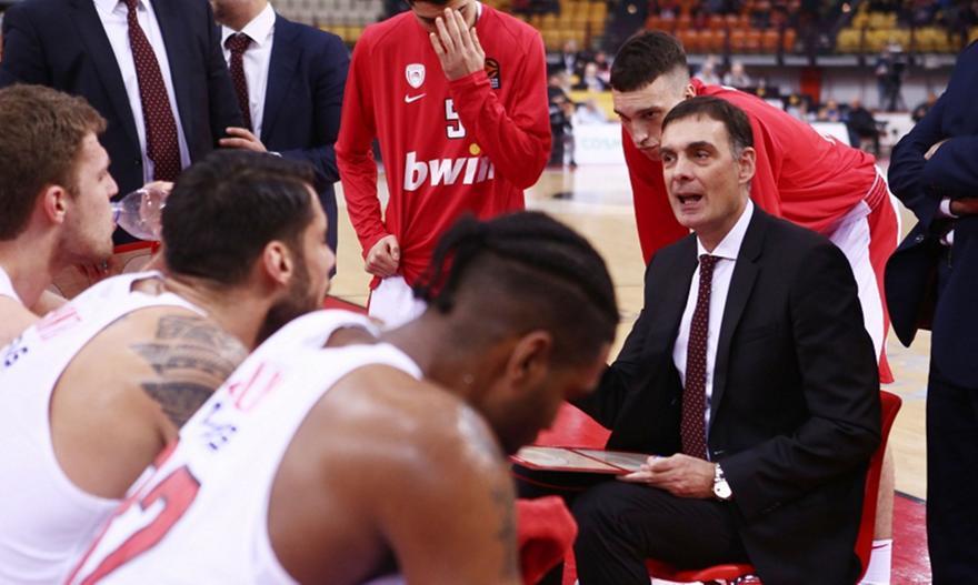 Ζέρβας: «Χρειάζεται τέλειο παιχνίδι για να έχει τύχη με Μακάμπι ο Ολυμπιακός»