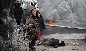 Handelsblatt: Ντροπή της Ευρώπης οι συνθήκες διαβίωσης των προσφύγων στα ελληνικά νησιά