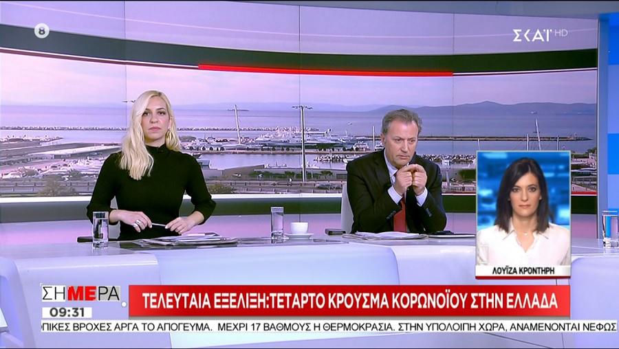 Τέταρτο κρούσμα κορονοϊού στην Ελλάδα