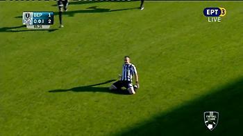 Η βολίδα του Αποστολόπουλου που έδωσε τη νίκη στον ΟΦΙ (video)