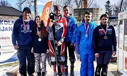 Δεύτερη η Νίκου στο World Para Alpine Skiing EC αλπικού σκι