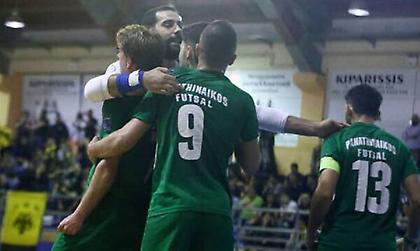 Live streaming: Παναθηναϊκός-Ηνίοχος (Futsal)