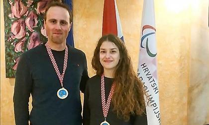 Διπλή ελληνική επιτυχία για τη Νίκου στο «World Para Alpine Skiing EC» του Ζάγκρεμπ
