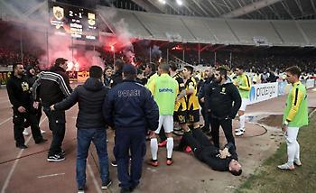 «Καίει» την ΑΕΚ το φύλλο αγώνα αναφέροντας επίθεση στους διαιτητές
