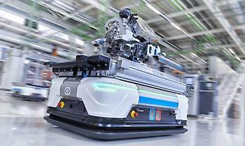Ρομπότ που ακολουθούν τον προϊστάμενο και έξυπνα ράφια