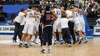 Η FIBA streamάρει απόψε το έπος Ελλάδα-ΗΠΑ 101-95 (video)