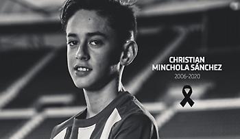 Σοκ: «Έφυγε» 14χρονος παίκτης της Ατλέτικο Μαδρίτης