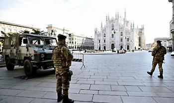 Νέα «μαύρη» μέρα στην Ιταλία: 889 νεκροί σε ένα 24ωρο, συνολικά 10.023 τα θύματα
