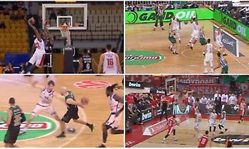 Παναθηναϊκός και Ολυμπιακός: 5+5 στιγμές ΜΑΓΕΙΑΣ στη φετινή Ευρωλίγκα! (videos)