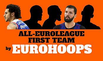 Ευρωλίγκα: Η κορυφαία πεντάδα της φετινής σεζόν! (video)
