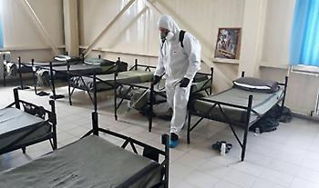 Κορωνοϊός: Παραγωγή αντισηπτικών από κατασχεμένα ξεκίνησε ο στρατός