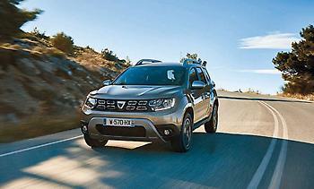 Dacia Duster με κινητήρα βενζίνης - υγραερίου