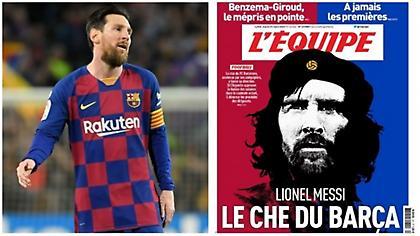 L' Equipe: «Μέσι, ο Τσε Γκεβάρα της Μπαρτσελόνα»