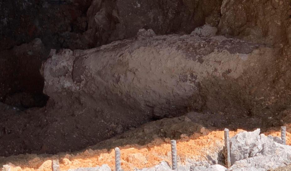 Βρέθηκε οβίδα του Β Παγκοσμίου Ερμού και Νίκης κοντά στο ΥΠΟΙΚ