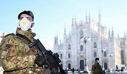 Κορωνοϊός-Ιταλία: Ακόμη 837 θάνατοι – Στους 12.428 συνολικά