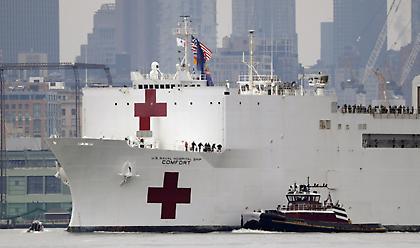 Κορωνοϊός-ΗΠΑ: Ξεπέρασαν την Κίνα οι θάνατοι - Έφθασαν τους 3.393