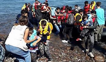 Βάρκα με 39 μετανάστες στη Λέσβο: Όλοι οι επιβαίνοντες σε καραντίνα
