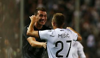 Ζίβκοβιτς και Μίσιτς «κάνουν ζέσταμα» στους δρόμους της Θεσσαλονίκης