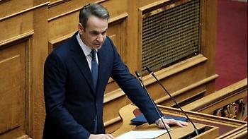 Μητσοτάκης στη Βουλή: «Καθοριστικός ο Απρίλιος- Αν χαλαρώσουμε θα το πληρώσουμε»