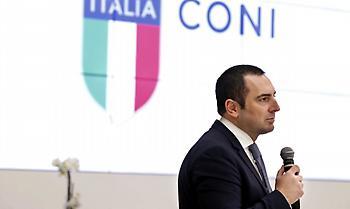 Ιταλός υπουργός αθλητισμού: «Υπάρχει έναν έκτακτο πλάνο για να συνεχιστεί ο αθλητισμός τον Μάιο»