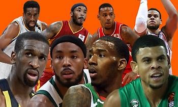 Top 10 παίκτες στην Κίνα με θητεία στην Ευρωλίγκα
