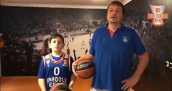 Το μήνυμα του Αταμάν παίζοντας μπάσκετ παρέα με τον γιο του (video)