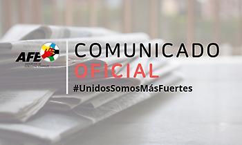 Ένωση ποδοσφαιριστών Ισπανίας: «Επανεκκίνηση μόνο όταν το επιτρέψουν οι υγειονομικές Αρχές»