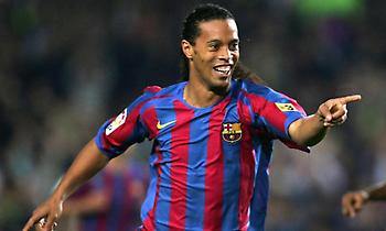 Ποιο είναι το καλύτερο γκολ του Ροναλντίνιο με την Μπαρτσελόνα; (video)