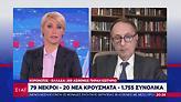 Σύψας στον ΣΚΑΪ: Πότε έρχεται δεύτερο κύμα κορωνοϊού στην Ελλάδα- Τι να περιμένουμε