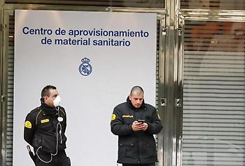 Συγκεντρώνει υγειονομικό υλικό η Ρεάλ Μαδρίτης
