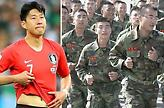Εκπαίδευση… κομάντο για τον Σον στον στρατό της Νότιας Κορέας