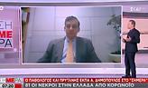 Κορωνοϊός: Πρύτανης ΕΚΠΑ στον ΣΚΑΪ για τη χρήση πλάσματος ασθενών που θεραπεύτηκαν
