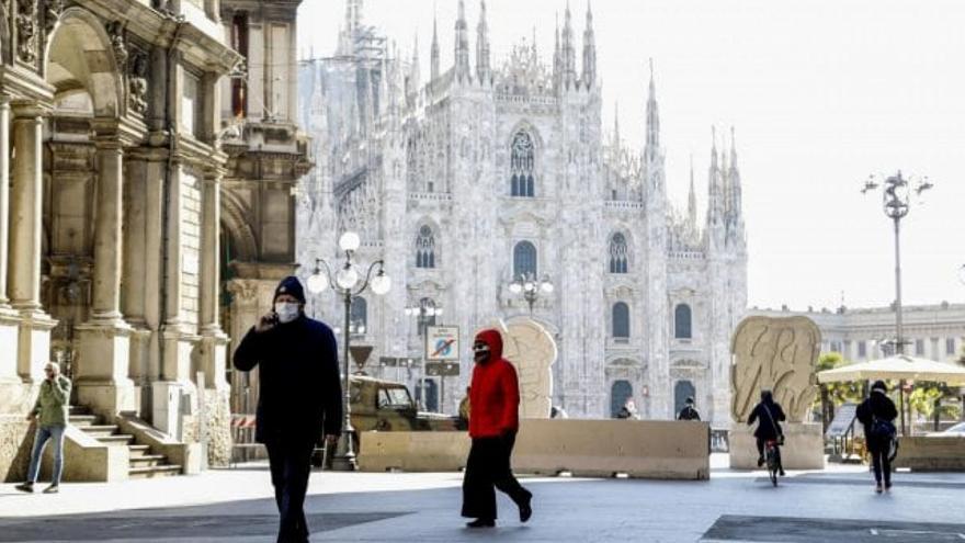 Ιταλία-Κορωνοϊός: Αύξηση των κρουσμάτων, αλλά συνεχής μείωση των νεκρών