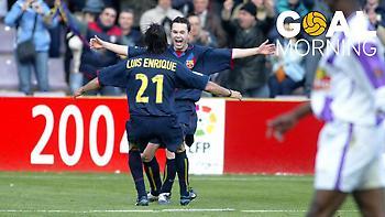 Δεκαέξι χρόνια από το πρώτο γκολ του Ινιέστα στη La Liga (video)