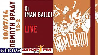 Οι Imam Baildi στον NovaΣΠΟΡ FM 94,6