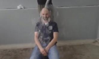 To ice bucket challenge του Κώστα Μιαούλη